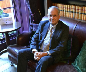 David Sainsbury, photo by Varsity